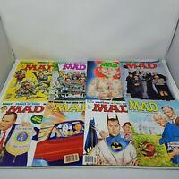 MAD MAGAZINE LOT 1992 8 Pieces / Magazines Vintage Good 308-315 Lot 1990's 90s