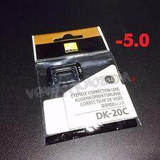 Nikon DK-20C Diopter-Adjustment -5 Eyepiece Correction Lens for D7000 D5000 FE10