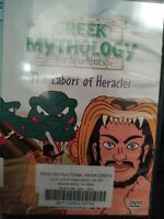 DVD: Greek Mythology for Students - The Labors of Heracles Hercules Zeus