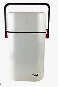 Decor Australia White BYO 2 Bottle Wine Cooler Portable Wine Chiller Carrier