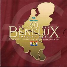 [#93423] Benelux, Euro Set of 24 coins + 1 token, 2004