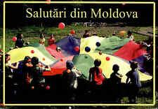 Salutari din Moldova Postcard Postkarte Ansichtskarte gelaufen & frankiert