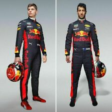 Max Verstappen go kart race suit red bull style racing suits