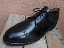 ALLEN EDMONDS Mens Dress Shoes Classic Black Cap Toe Lace Up Oxfords Size 11.5B