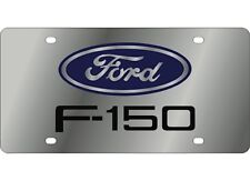 FORD Logo F-150 Super Duty 3D Stainless Steel License Plate