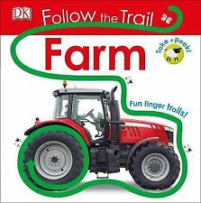 Follow the Trail: Follow the Trail: Farm by Dorling Kindersley Publishing-NEW!