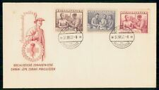Mayfairstamps Czechoslovakia FDC 1952 Doctor With Patients Combo First Day Cover