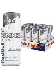 Red Bull White Edition Kokos Blaubeere 12x0,25L Ink.3€ Pfand