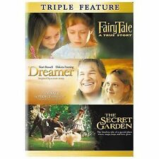 NEW 3 DVD FAIRY TALE A TRUE STORY DREAMER THE SECRET GARDEN FREE 1ST CLS S&H