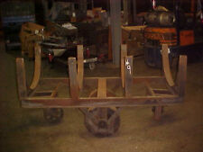 Vintage industrial base / factory cart base #8