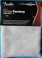 Genuine Fender Factory Microfiber Cloth, New Lower Price! MPN 0990523000