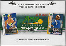 2013 ACE GRAND SLAM TENNIS FACTORY SEALED BOX: 10 AUTO PER BOX! SHARAPOVA/NADAL