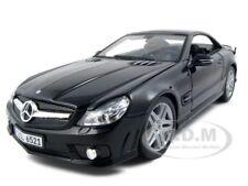 2010 2011 MERCEDES SL65 SL 65 COUPE AMG BLACK 1/18 MODEL CAR BY MAISTO 36193