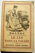 BALZAC/LE LYS DANS LA VALLEE/A.MICHEL/1959/