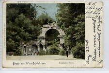 (Ga415-367) Romische Ruine, Gruss Aus, VIENNA, Austria 1902 Used G-VG