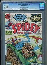 Spidey Super Stories #38 CGC 9.8 (1979) Spider-Man Fantastic Four Highest Grade