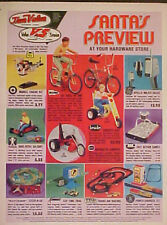 1971 TRUE VALUE TYCO TRANS-AM RACING SLOT CAR TOYS CHRISTMAS MEMORABILIA TOY AD