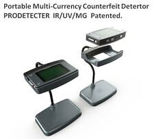 Portable Multi-Currency Couterfeit Detertor Prodetector Uv Ir Magnetic Banknote