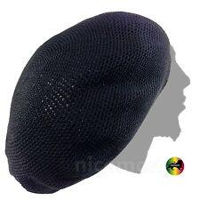 Roots Rasta Nattydread Dreadlocks Tams Crochet Beret Cap Hat Rastafari XL to XXL