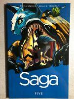 SAGA volume 5  (2015) Image Comics Trade Paperback 1st FINE-