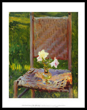 John Singer Sargent old Chair póster imagen son impresiones artísticas & la estructura de aluminio negro 36x28cm