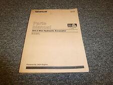 Caterpillar Cat 304.5 Mini Hydraulic Excavator Parts Catalog Manual ANR1-Up