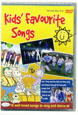 Kids Favourite Songs For Fun and Dance DVD.  Nursery rhymes, childrens DVD *NEW*