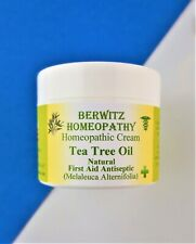 Aromatherapy Tea Tree Cream Soothes Skin Redness Acne Spots Infections 50g Jar
