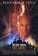 Star Trek First Contact Movie Poster Advance DS 27 X 40 Original