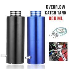 800ml Black Overflow Catch Tank Radiator Coolant Expansion Tank Bottle Header