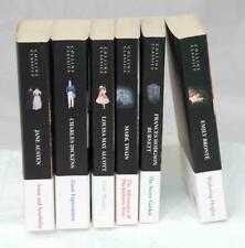 Bundle Collins Classics Paperbacks Twain Alcott Austen Dickens Bronte Burnett