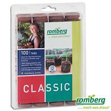 Romberg 1 x 100 Stück Kokos-Quelltabletten Ø 36mm zur Pflanzen-Anzucht