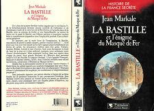 """Jean Markale : La Bastille et l'énigme du Masque de Fer """" Editions Pygmalion """""""