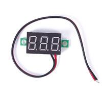 Hot DC 2.5-30V LED Panel Voltage Meter 3-Digital Display Voltmeter Voltage Meter