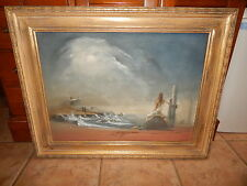 SUPERB AUTHENTIC  RUTH  RAY 1954 OIL PAINTING ON CANVAS ,FRAMED, NOTED ARTIST