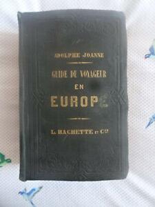Joanne, Adolphe. Guide du Voyageur  en Europe. Hachette 1860