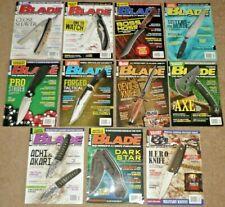 11 BLADE Magazines Knives February thru December 2015 Vol. 42 Issue #2, #4-#13