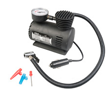 MINI PORTABLE 12V CAR ELECTRIC AIR COMPRESSOR FOR PUMP BIKE TYRE INFLATOR