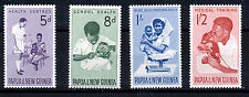 PAPUA & NEW GUINEA 1964 HEALTH SERVICES SG57/60 IMPRINT BLOCKS OF 4 MNH