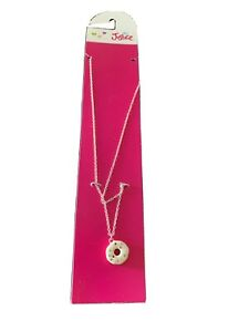 NWT JUSTICE FOR GIRLS JEWELRY NECKLACE Donut
