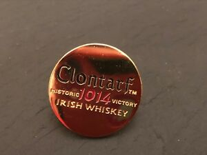 Cap Pin Badge FREEPOST UK WILD TURKEY RARE BREED Whiskey Lapel