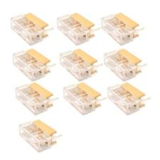 10pcs PCB Fuse Holder With Case Cover for 20mm Fuse AC 250V 6A