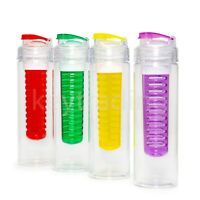750ML Fruit Fusion Infusing Infuser Water Bottle Sports Health Juice maker New