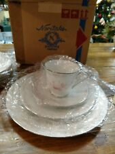 Noritake Carthage 4 Piece Dinner Setting NIB