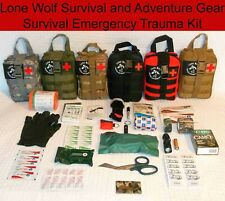 Deluxe Custom Designed 108 Item MOLLE Pouch Emergency Survival First Aid Kit
