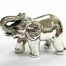 Da collezione stile vittoriano Elefante FIGURINA 925 Argento Sterling Marchiato