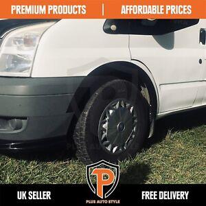 FORD TRANSIT Mk7 Van Camper Bus Wing Wheel Arch Trims BLACK set 8 pcs 06-13