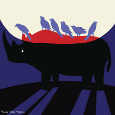 GILLIE AND MARC-direct from the artists-authentic Rhino Art print Africa love
