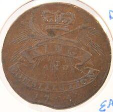 Conder Token - 1794 Hampshire 1/2 Penny - Emsworth - D & H # 20a - Lot # 180