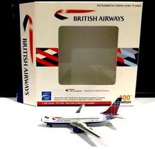 Aviation 1 400 scale British Airways Scotland Tartan Boeing 737-200 G-BGDL model